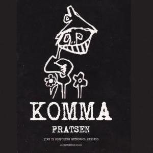Fratsen - KOMMA 2DVD